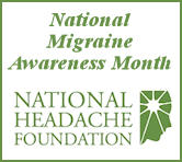 NationalMigraineAwarenessmonth
