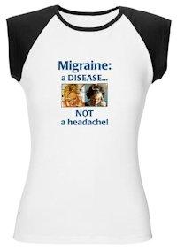 MigraineDiseaseCapSleeveTee200
