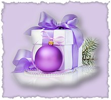 HolidayGiftPurple